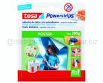 BIADESIVO A STRISCE POWERSTRIPS POSTER POSTER MAX 200gr 20 STRISCE