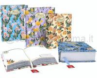 PIGNA DIARIO NATUR E FLOWERS 320pg 13 X 17,8cm