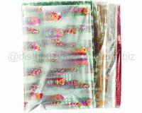 FOGLI CELLOPHANE NATALE pz 50cm. 100 x 130