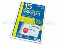 RICAMBI DOPPIO 210 x 594mm BIANCOff 15 RINFORZATO 100gr 4 MM