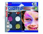 GIOTTO MAKE UP SET OMBRETTI CREMOSI COLORI GLAMOUR