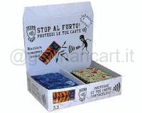 SCUDOCARD PORTA CARD SINGOLA pz 4 X 18 ASSORTITO