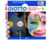 GIOTTO MAKE UP SET OMBRETTI CREMOSI COLORI CLASSICI