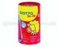 GIOTTO BEBE SMART PACK TONDA 12cm pz 10 ASS.TI BARATTOLO CARTONE