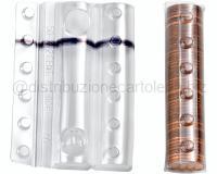 BLISTER PER MONETE 100 PEZZI 50 monete da 2 centesimi