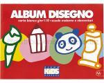 ALBUM DA DISEGNO KIDS BIANCO 240 x 330mm 110gr 10ff