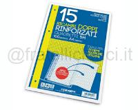 RICAMBI DOPPIO 210 x 594mm BIANCOff 15 RINFORZATO 100gr 5 MM