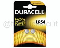DURACELL PILE SPECIALISTICHE ELETTRONICA ALCALINA PASTICCA LR54 BLISTER 1PZ