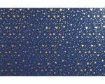 ROTOLINO CIELO IN PPL cm. 70 x 100 STELLE ORO