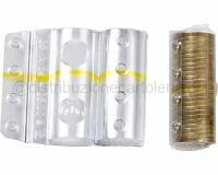 BLISTER PER MONETE 100 PEZZI 25 monete da 1 euro