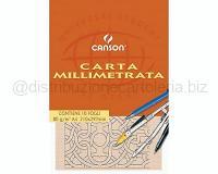 BLOCCO CARTA MILLIMETRATA MILLIMETRATO 210 X297mm 80gr 10ff LISCIO