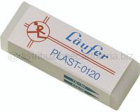 GOMMA PLAST LAUFER 0120 TRASPARENTE RETTANGOLARE PER PENNE CANCELLABILI SCATOLA 20 PZ